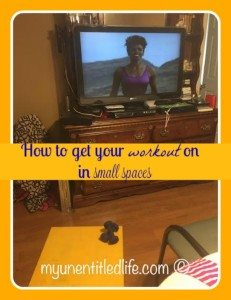 How to get your workout on in small spaces