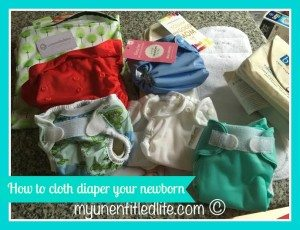how to cloth diaper your newborn