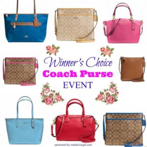 Coach Purse giveaway 5/15 US