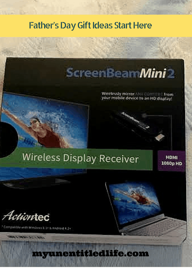 fathers day gift ideas screenbeam mini