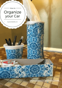 How to organize your car for summer travel #ad