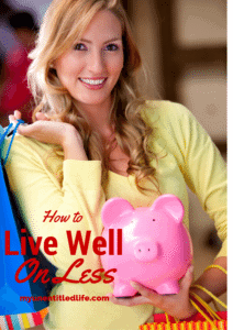 how to live well on less