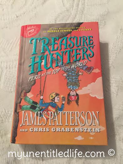 treasure hunters by james patterson review by mom and tween