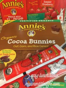5 easy lunch ideas your kids will love @Annies #ad #yumforall #annieshomegrown