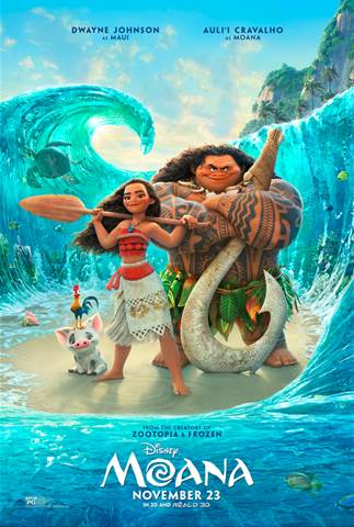 moana poster and new trailer