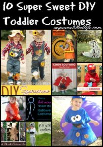 10 Super Sweet DIY Toddler Costumes