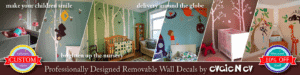 Evgie Wall Decals giveaway 10/15 WW