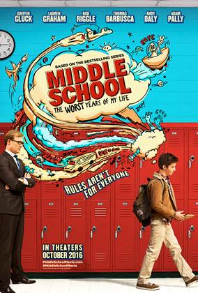 Check out Middle School with your kids and see my review here!