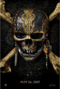 Trailer for Pirates of the Caribbean: Dead Men tell no tales