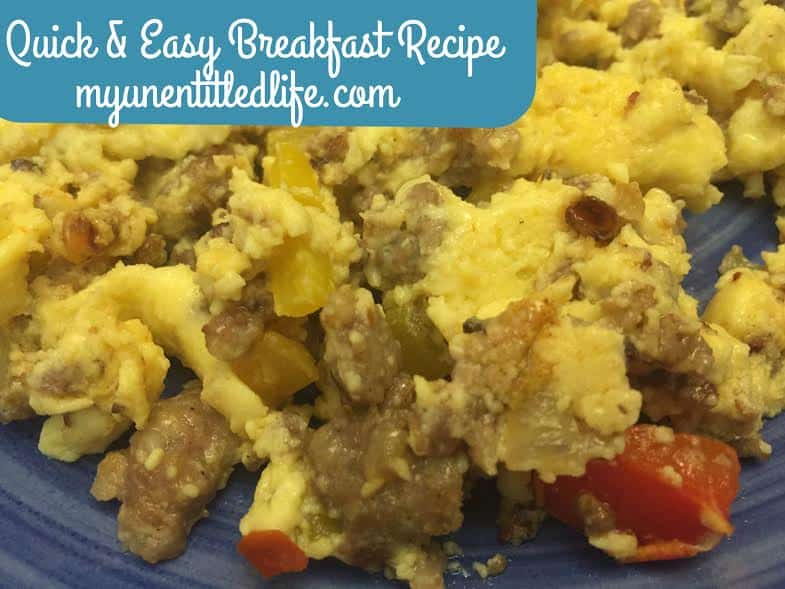 Quick and easy breakfast recipe the perfect recipe for holiday mornings!
