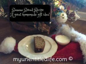 Banana Bread a great homemade gift idea