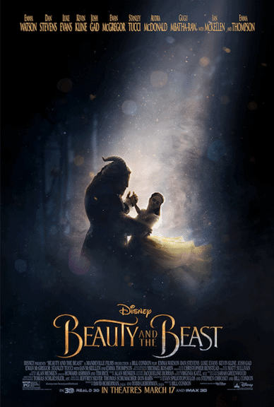Looking for the newest trailer for Beauty and the Beast? Check out my trailer and the newest poster!