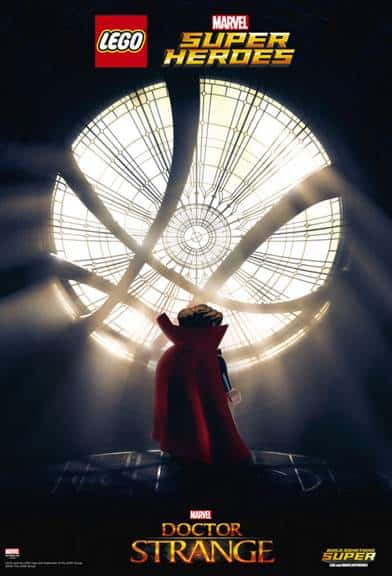 Doctor Strange lego poster and clips! Comes out this Friday!