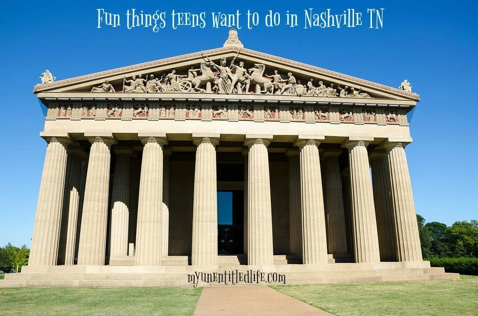 fun things for teens to do in nashville tn