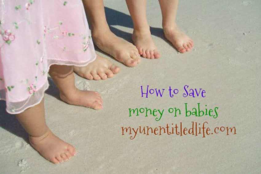 how to save money on babies
