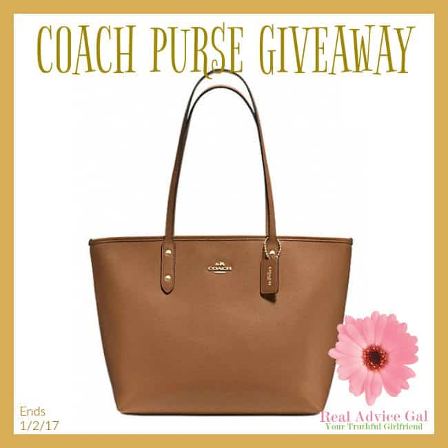 choose your own coach purse giveaway
