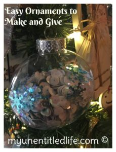 fun and easy ornaments to make and give