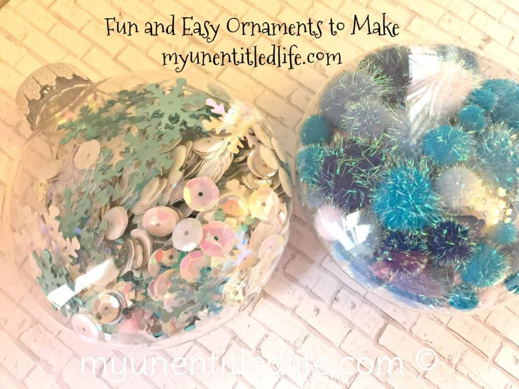 fun and easy ornaments to make