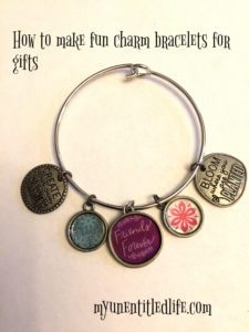 Quick and Easy Bracelet Making idea for gifts