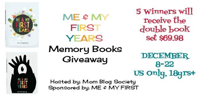enter to win a me and my first giveaway for memory books!