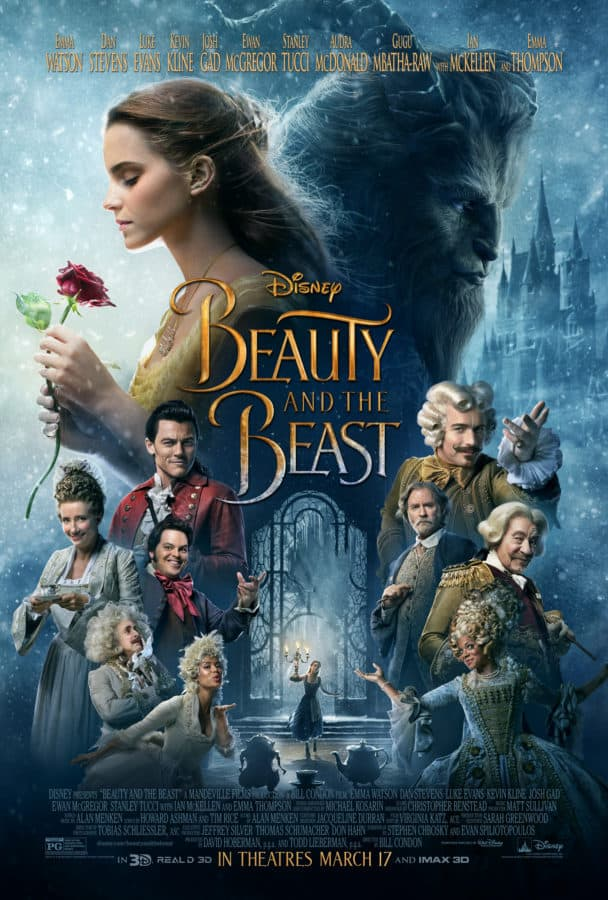 Waiting for the new live action Beauty and the Beast I've got a new tv spot and poster for you while you wait!