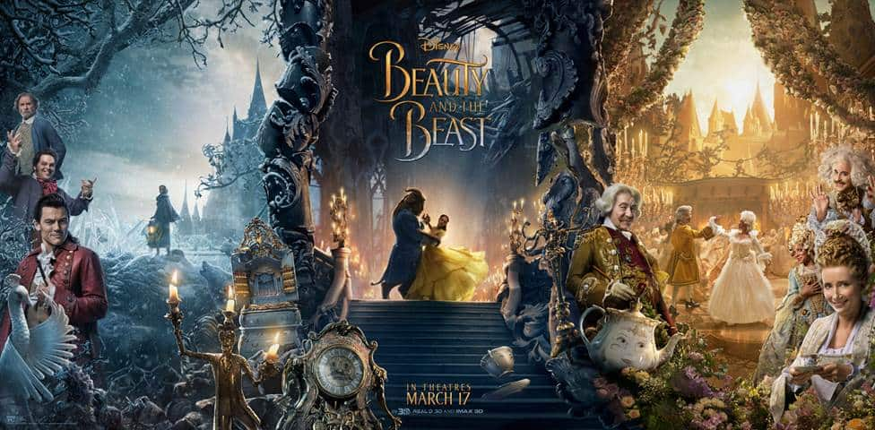 beauty and the beast trailer and release date