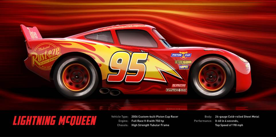lightening mcqueen cars 3 trailer and cast