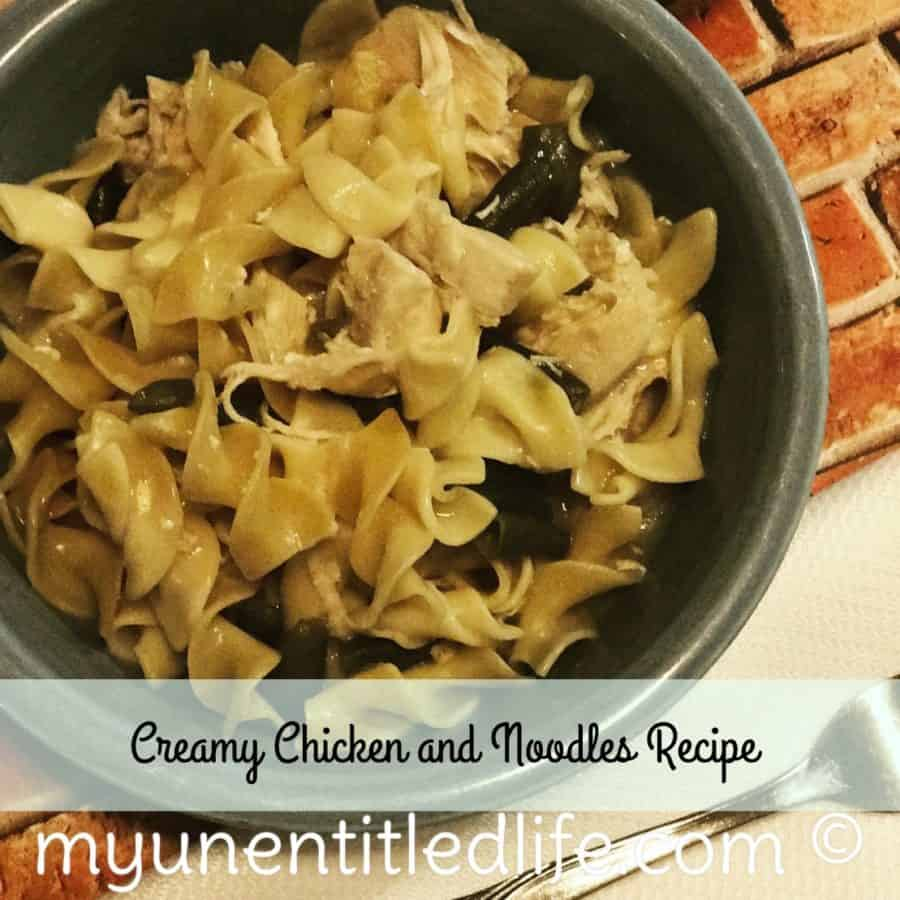 creamy chicken and noodles recipe for instant pot or slow cooker