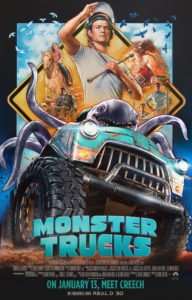 monster trucks trailer and printables