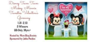 Disney Tsum Tsum Mickey Minnie Tsweeties 5 Winners Valentine's Giveaway 2/13