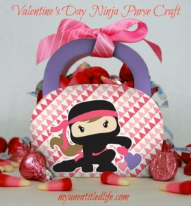 Valentine's Day Purse craft