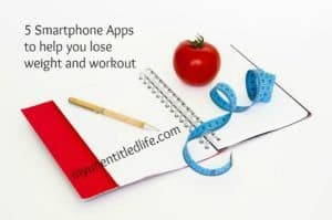 5 Smartphone Apps that help you lose weight and workout