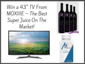 43 inch tv giveaway from Moxiie Juice 3/3 US @Moxiiebrand #Moxiie