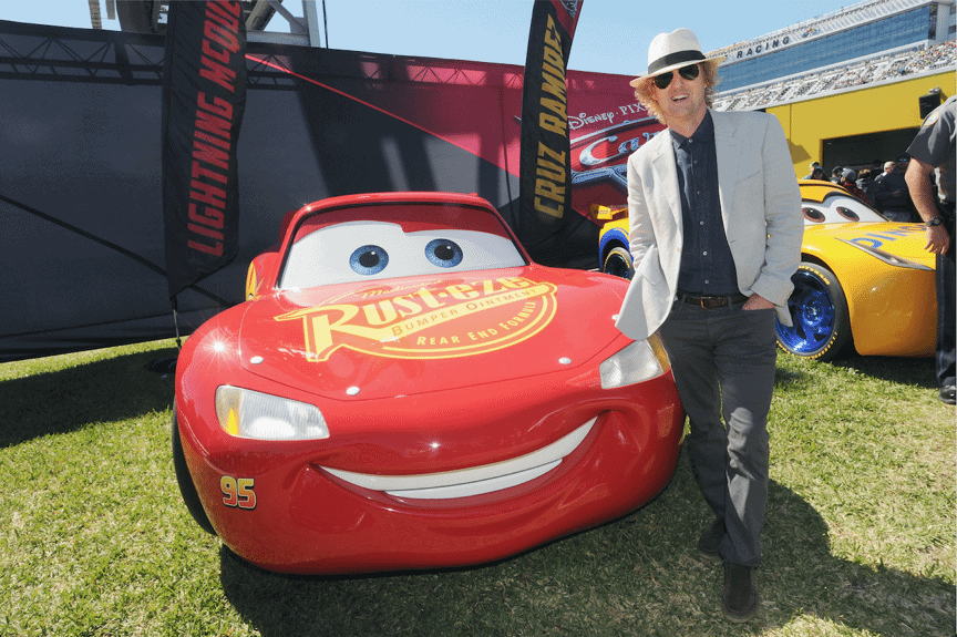 Check out the new trailer for Cars 3 and see Owen Wilson hanging out at the Daytona 500.