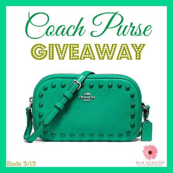 coach purse giveaway 3/13