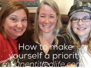 How to make yourself a priority and save time too