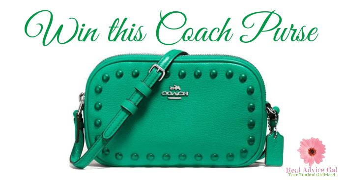 win a coach purse 3/13