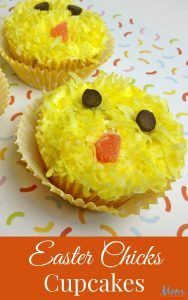 Easter Chick Cupcake Tutorial #12daysof