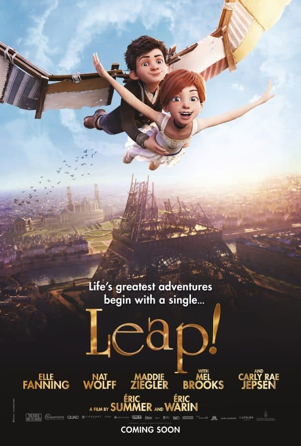 leap movie trailer, poster and info