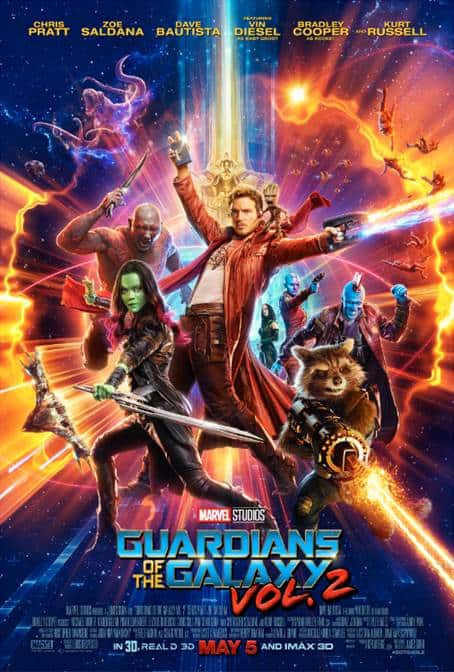 guardians of the galaxy vol 2 new trailer and poster