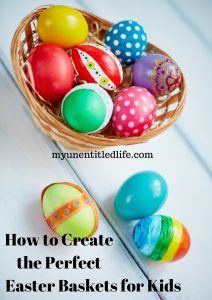 How to create the perfect kids Easter basket + $100 Kmart Giveaway #LifeisRidiculouslyAwesome @Kmart