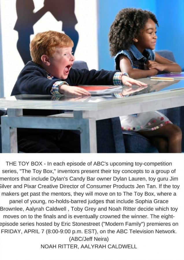 The Toy Box judges