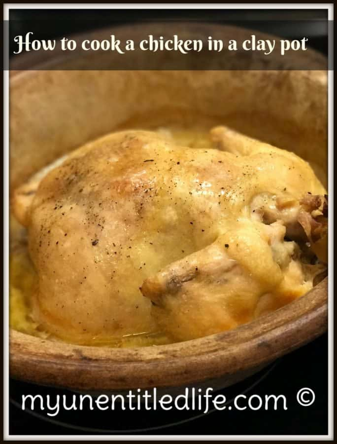 how do you cook a chicken in a clay pot