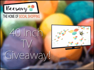 Enter to win a 40″ TV from BeeSavy