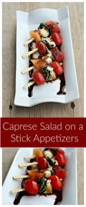 Caprese Salad on a Stick #12daysof