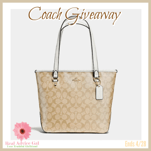 Coach Purse giveaway 4/30 US