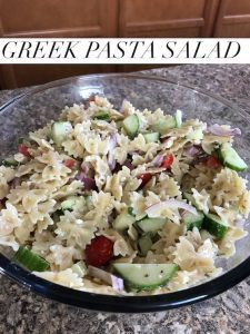 Greek Pasta Salad Recipe #12daysof