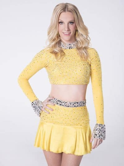 heather morris on dancing with the stars