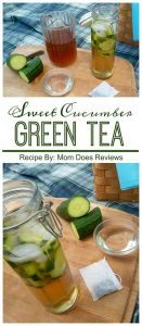 sweet cucumber tea recipe