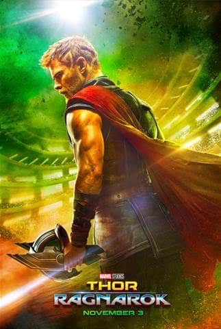 Thor Ragnarok poster and trailer